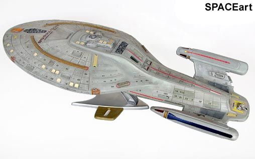 Star Trek: U.S.S. Voyager - Deluxe Display-Modell, Fertig-Modell ... https://spaceart.de/produkte/st071.php