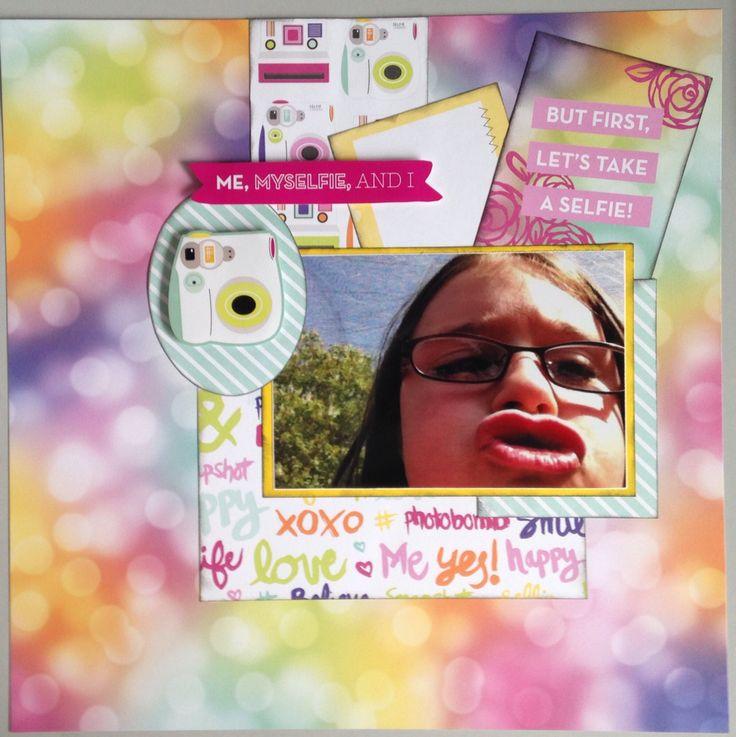 MWM - Tulip #10  Paper by: @echoparkpaper - Selfie  Sketch can be found at: http://scrapbook.steals.com/wp/2015/06/24/21360/