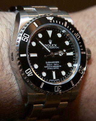 """A modern Rolex Submariner """"No Date"""" Ref. 114060"""