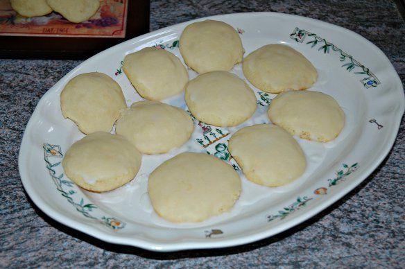 Italian Glazed Lemon Cookies   Bakewell Junction