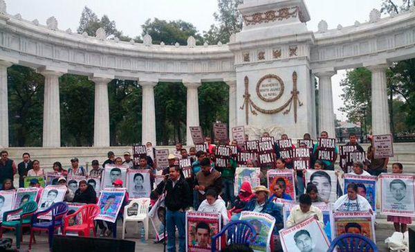 Audios del mitin en Ciudad Monstruo a 13 meses de la desaparición de los normalistas