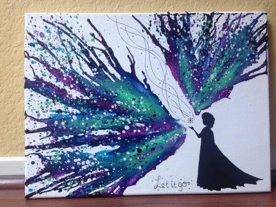 Disney de gelée sur le thème Art colorie fondu par CrayonGogh