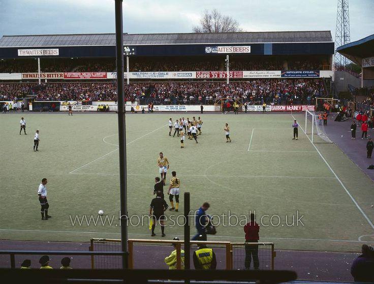 Deepdale, Preston North End in the 1980s.