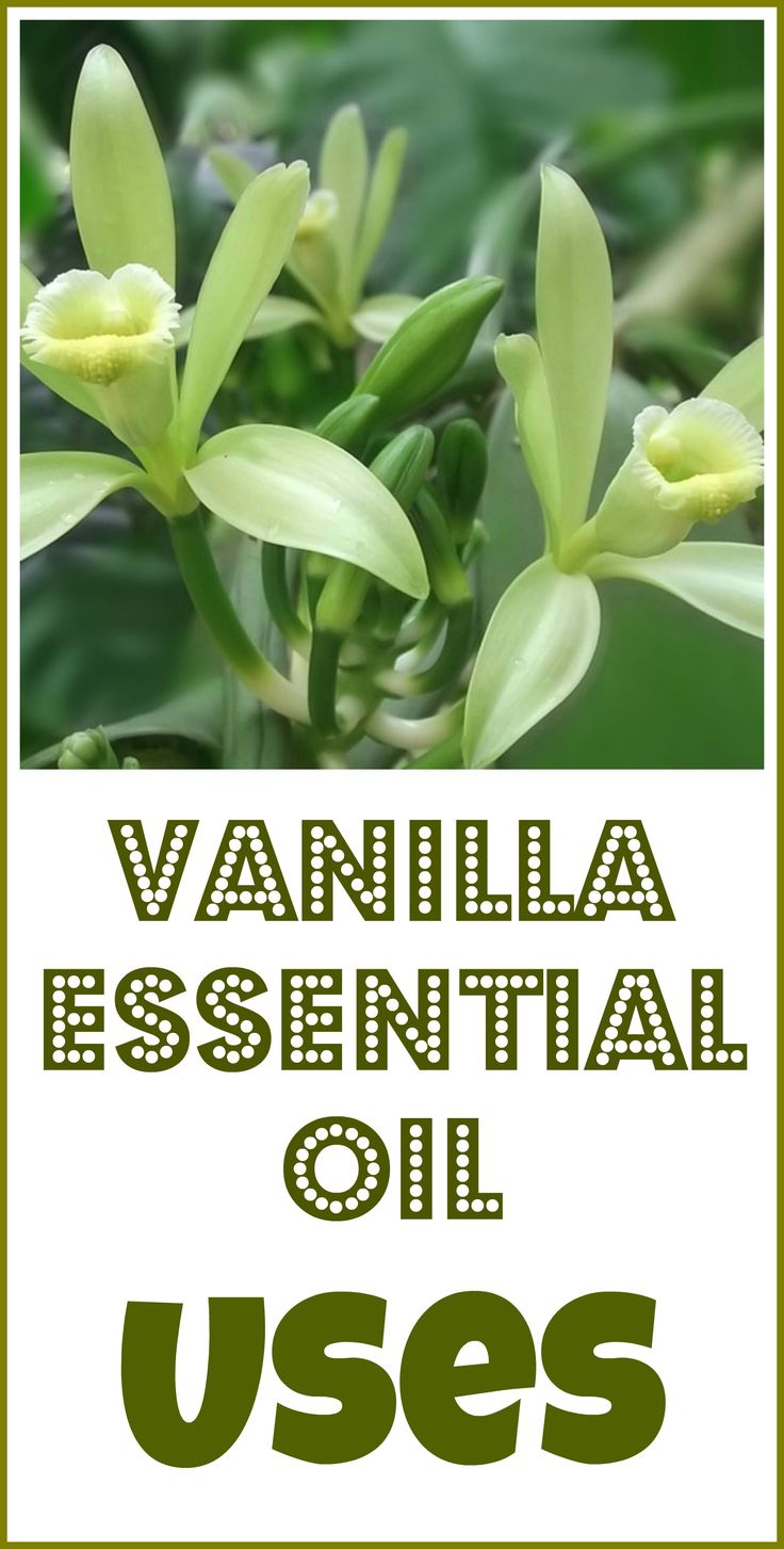Vanilla essential oil uses and benefits.