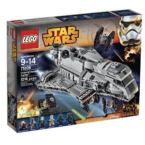 Amazon.com: LEGO Star Wars Imperial Assault Carrier 75106 Building Kit: Toys & Games