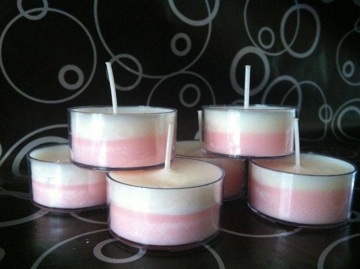 Strawberries & Cream Tealights