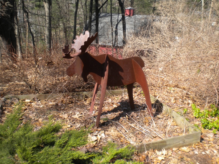 Pretty but kind of tough to cook | Garden Ornaments of NE | Pinterest