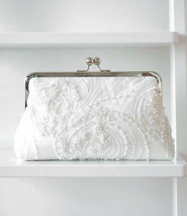 Bridal Clutch / Beaded Clutch / Wedding Clutch