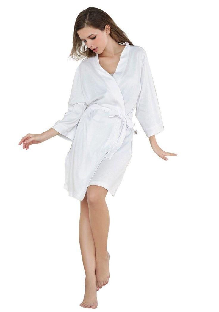 Godsen Women S Comfort Cotton Bathrobe Short Robes   Fashideas.com