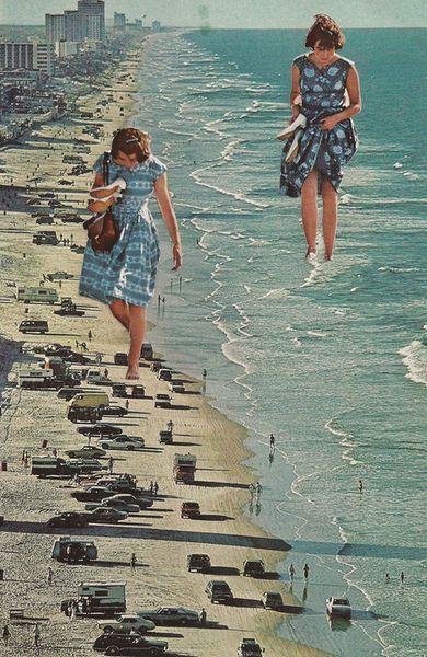Walk on the Beach by Sarah Eis