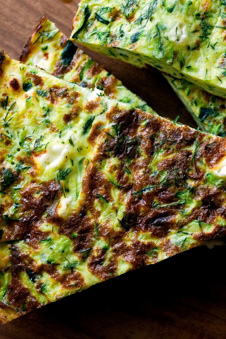 Frittata With Zucchini, Goat Cheese and Dill Recipe - NYT Cooking