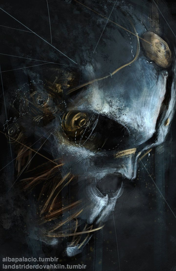 Corvo s Mask Dishonored by AlbaPalacio #Dishonored
