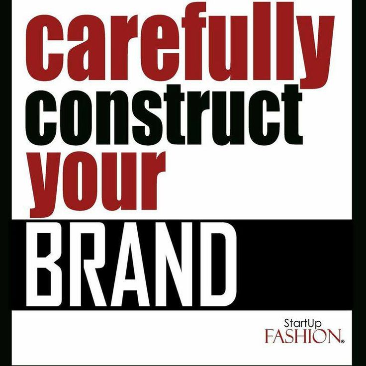 #care #construct #brand #StartUpFASHION #business #biztip