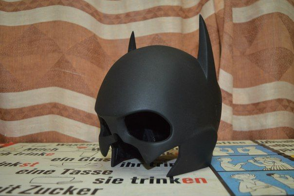 DC Comics - Life Size Batgirl Helmet Ver.2 for Cosplay Free Papercraft Download…