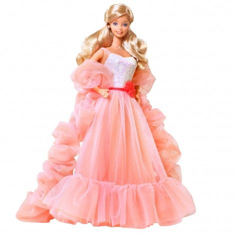 Peaches 'n' Cream Barbie. So funny I still have this dress!!