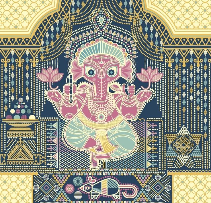 Ganesha by Sanjay Patel