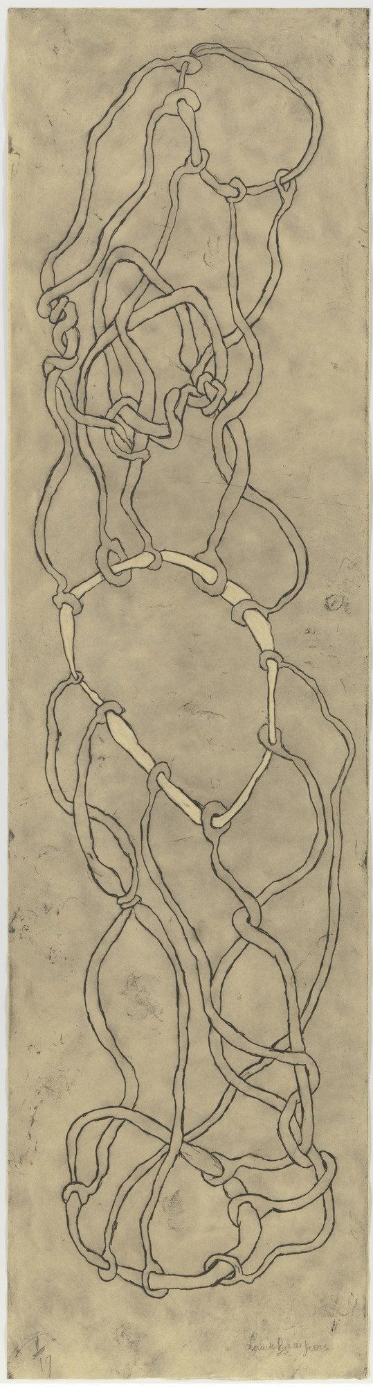 Louise Bourgeois. Knots. 2006