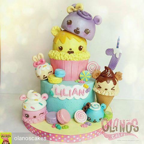 By @olanoscakes -  #Birthdaycake #customcake #customcakejakarta #partyfavour #kueulangtahunjakarta #jajanjakarta #delicious #sweettable #fondant3D #caketopper #sugarart #olanoscakes #olanos #jakarta #yummy #amazing #instafood #sweet #cake #olshopcake #jktfoodies #numnoms #numnomscake