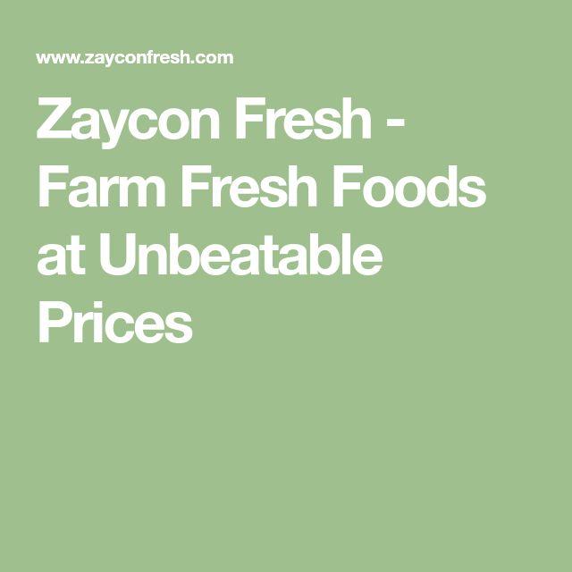 Zaycon Fresh - Farm Fresh Foods at Unbeatable Prices