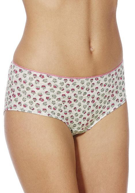 Tesco direct: F&F 4 Pack of Cupcake Print and Plain Shorts with As New Technology