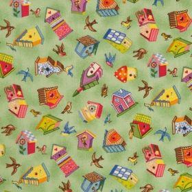 Casutele pasarelelor - Materiale textile online