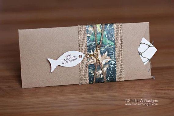 Pêche & chasse Invitation au prix par chacun par StudioWDesigns
