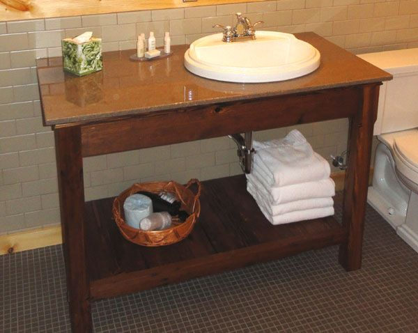 Rustic Lodge Log and Timber Furniture  Handcrafted from Green Reclaimed Heart Pine Northern White Cedar Best 25 Open bathroom vanity ideas on Pinterest Diy