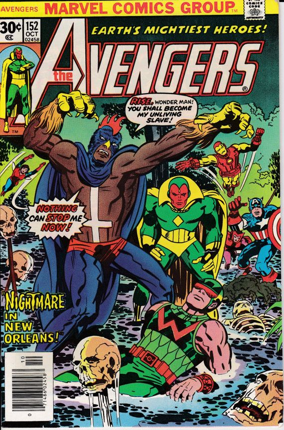 Avengers 1963 1st Series 152 October 1976