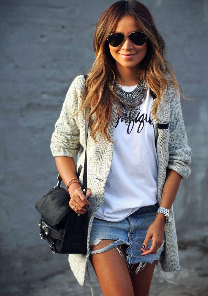 Gorgeous. #Fashion #Trending #Womensfashion Look do Dia #ootd #wear #fashion #criatices