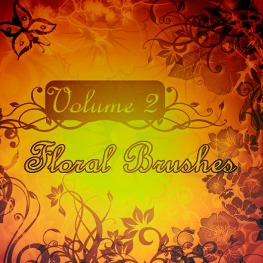 50 Using Examples of Floral Brushes for Inspiration