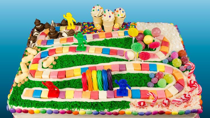 How to Make a Candyland Cake from Cookies Cupcakes and Cardio (+playlist)
