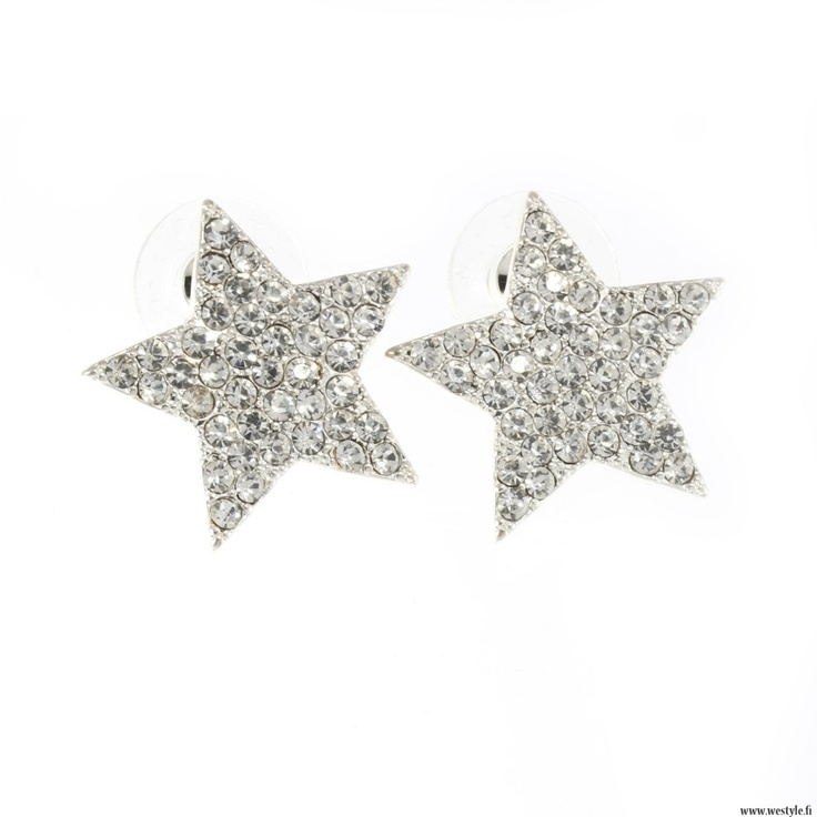 Star jewellery is a BIG must have right now and these new earrings are perfect! www.westyle.fi