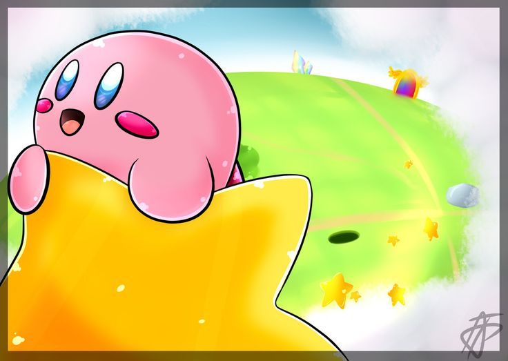 Hoshi No Kaabii : Warpstar! by AleKsProd. This...this is adorable. The glitter and shine...just perfect!