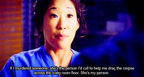"""They came into your life when you least expected them to, and now you can't imagine surviving without them. The term """"best friend"""" no longer describes your messed up, crazy, and perfect friendship. Without even trying to, to two of you have morphed into Meredith Grey and Cristina Yang. She is so muc..."""