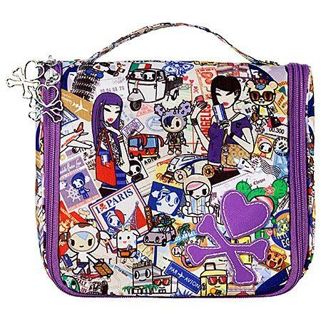 "tokidoki Passport Bag Collection Passport Medium Hanging Travel Bag by Tokidoki. $48.00. DISCONTINUED by Manufacturer / Not Available in Stores. Sephora Tokidoki Passport Bag Collection - Medium Hanging Travel Case. Condition:  Brand New With Tags. Design:  Custom Tokidoki Passport Artwork. Size:  (8"") x (7"") x (3.5""). What it is:A set of bags in perfect travel silhouettes with custom tokidoki Passport artwork. What it does:Whether you prefer to travel by plane, boat..."