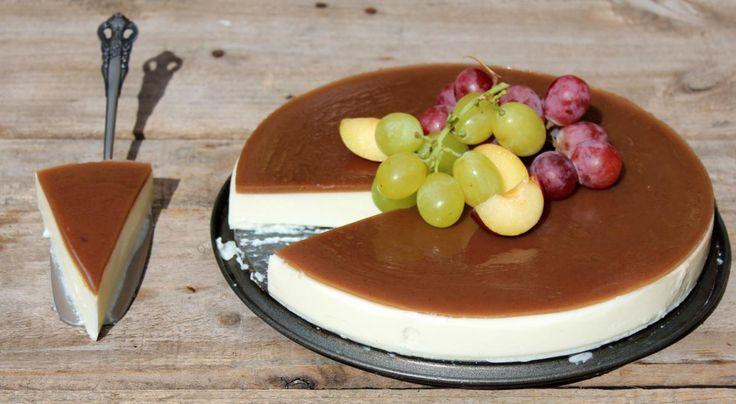 Tarta de queso sin horno con crema de castañas - El Aderezo - Blog de Recetas de Cocina