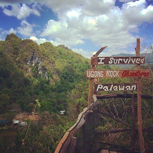 Hike and try the different adventures in Ugong Rock. | 14 Incredible Things To Do In Puerto Princesa, Palawan