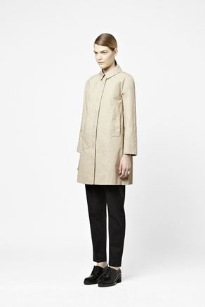 Waxed cotton coat | COS £115