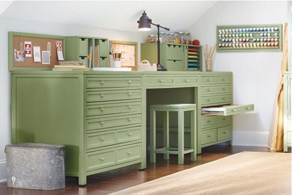 109 best images about favorite scrapbooking spots on for Martha stewart living craft furniture
