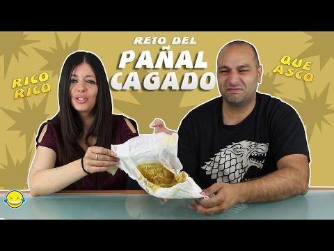 (1220) RETO DEL PAÑAL CON CACA!!! O PAÑAL CAGADO! NIVEL EXTREMO. BABY POOP - YouTube