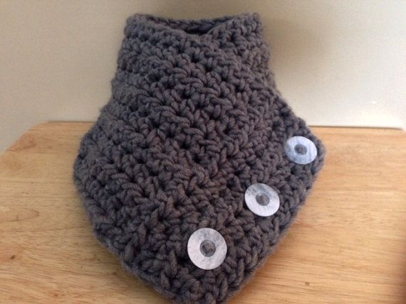 Button Up Cowl by KnotsSewFast on Etsy, $20.00