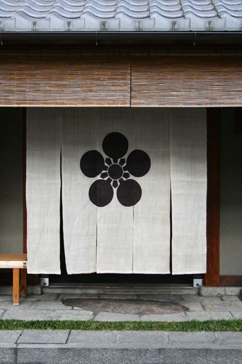 Japanese curtain (Noren)