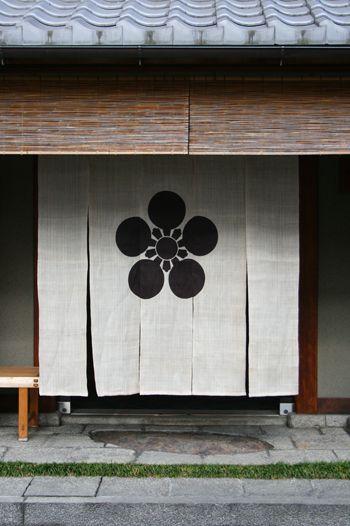 のれんーNoren curtain,Japan
