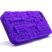 The 3D design textured iPhone 4 Soft Cases. Chateau design. Only $11.95