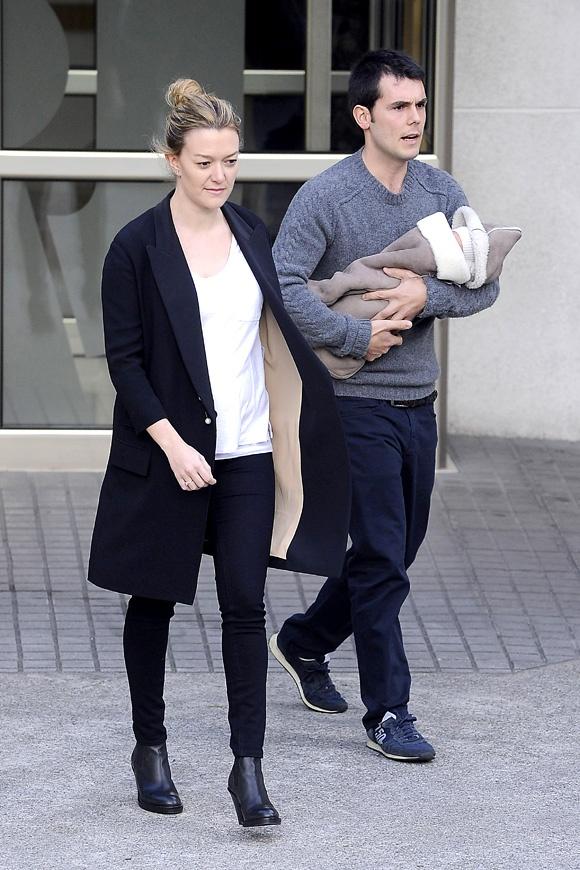 Marta Ortega y Sergio Álvarez ya están en casa con el pequeño Amancio - Foto 3