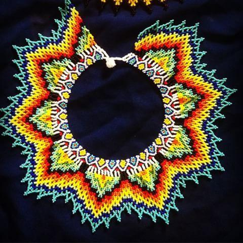 Collar OO #joya #emberachami #accesorios #indigena #colores