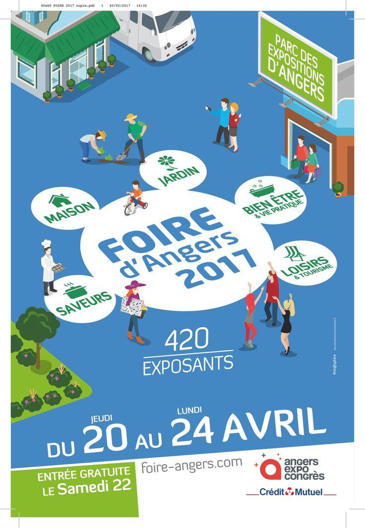 La foire d'Angers s'installe pendant 4 jours au Parc des Expositions. Journées à thème, chacun y trouvera son compte. Profitez en!