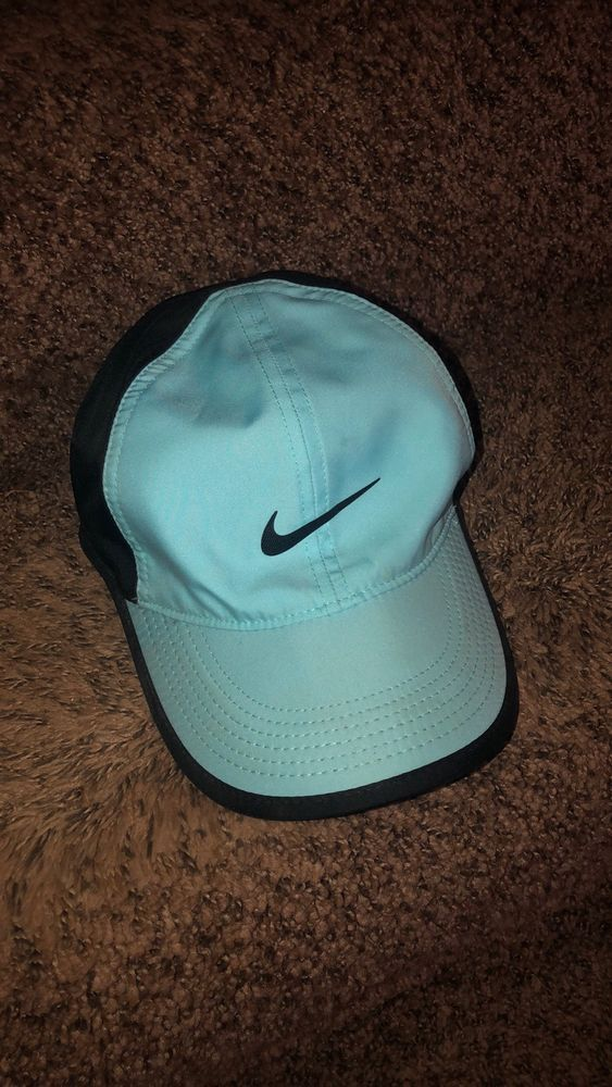 ac66a46879e849 NIKE Featherlight Dri-Fit Cap Hat Adult Unisex Blue  fashion  clothing   shoes  accessories  unisexclothingshoesaccs  unisexaccessories (ebay link)