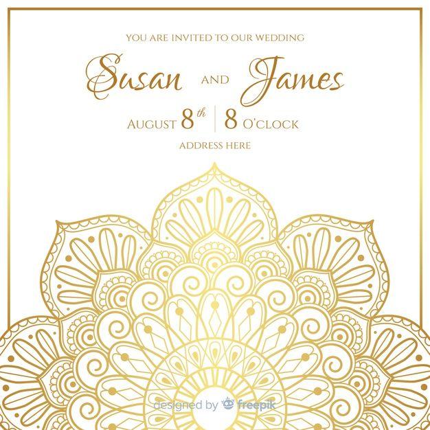 Download Elegant Wedding Invitation Card Template For Free Elegant Wedding Invitation Card Wedding Invitation Cards Wedding Invitation Card Template