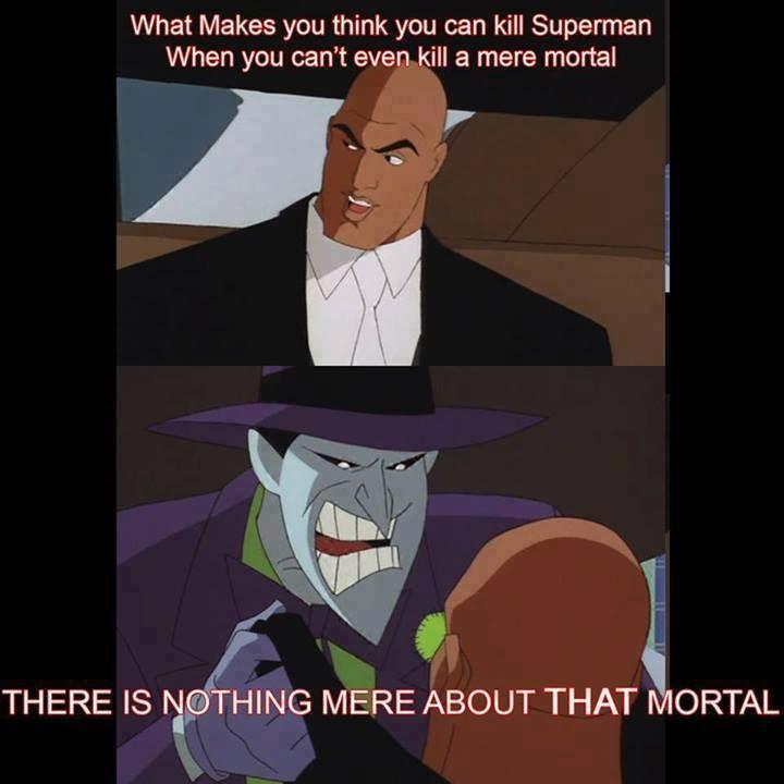Joker/ Batman/ Lex Luthor/ Funny